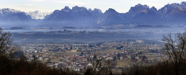 View over Limana (photo Magico Veneto)