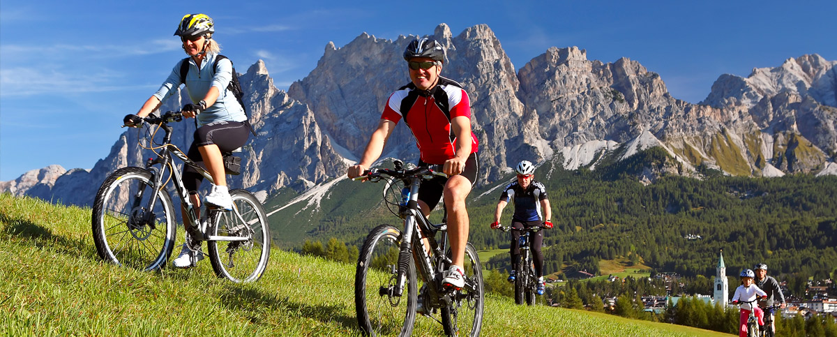 Mountainbike a Cortinad 'Ampezzo (foto D.G. Bandion)