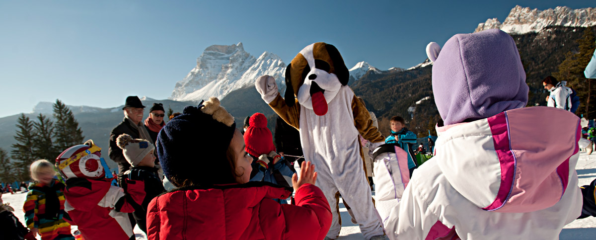 Scotti: the mascot of Cadore (Cadore Dolomites Consortium Archive)